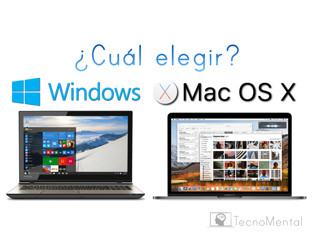 Razones para elegir Windows o Mac