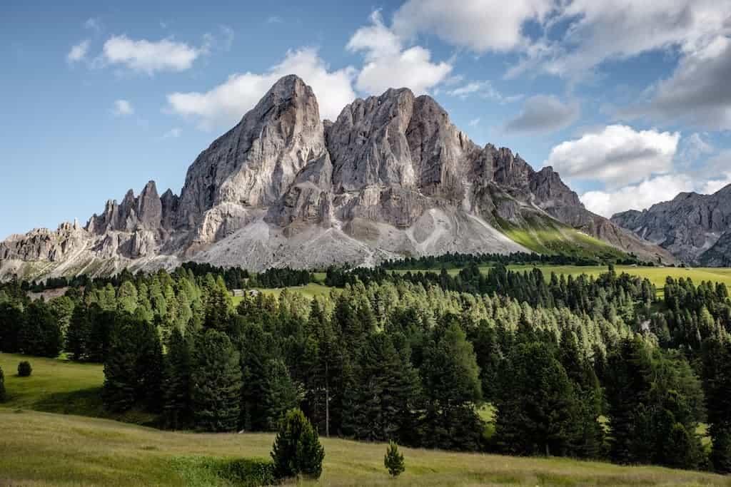 felicidad montaña
