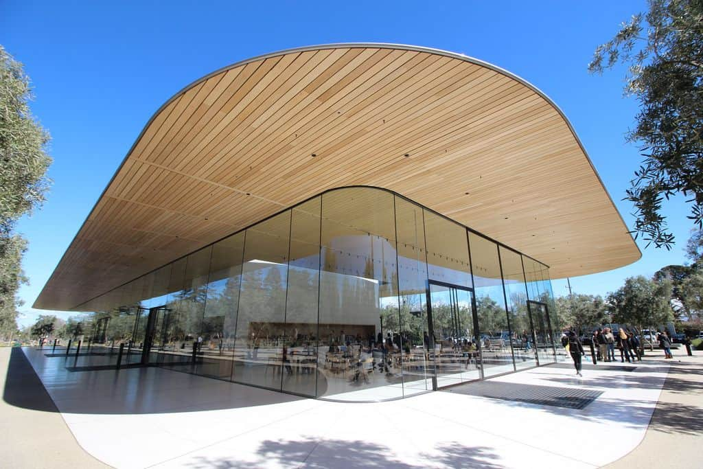 Apple Park Visitor Center exterior