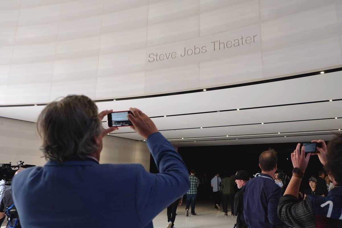 Entrada auditorio Steve Jobs