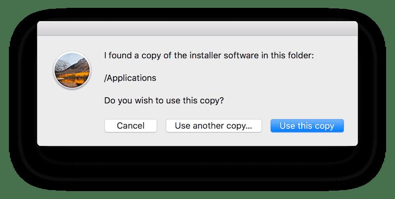 Creando instalador usb para mac