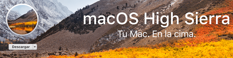 Descargar mac OS High Sierra usb booteable