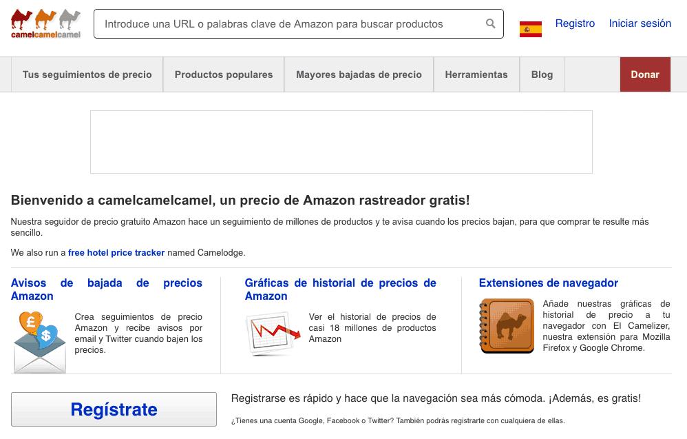 Pagina para comprar más barato en Amazon