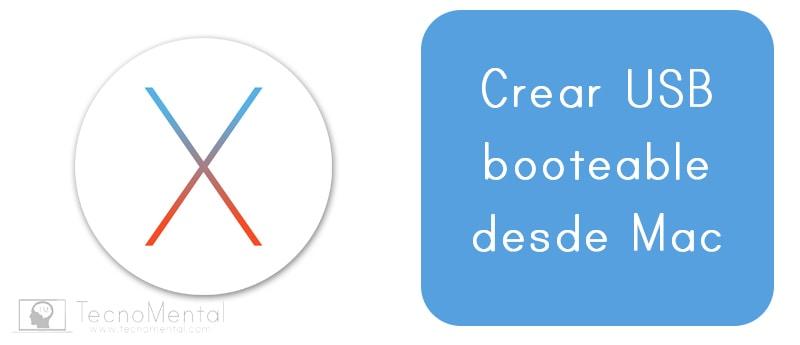Cómo crear un usb booteable desde Mac OS X