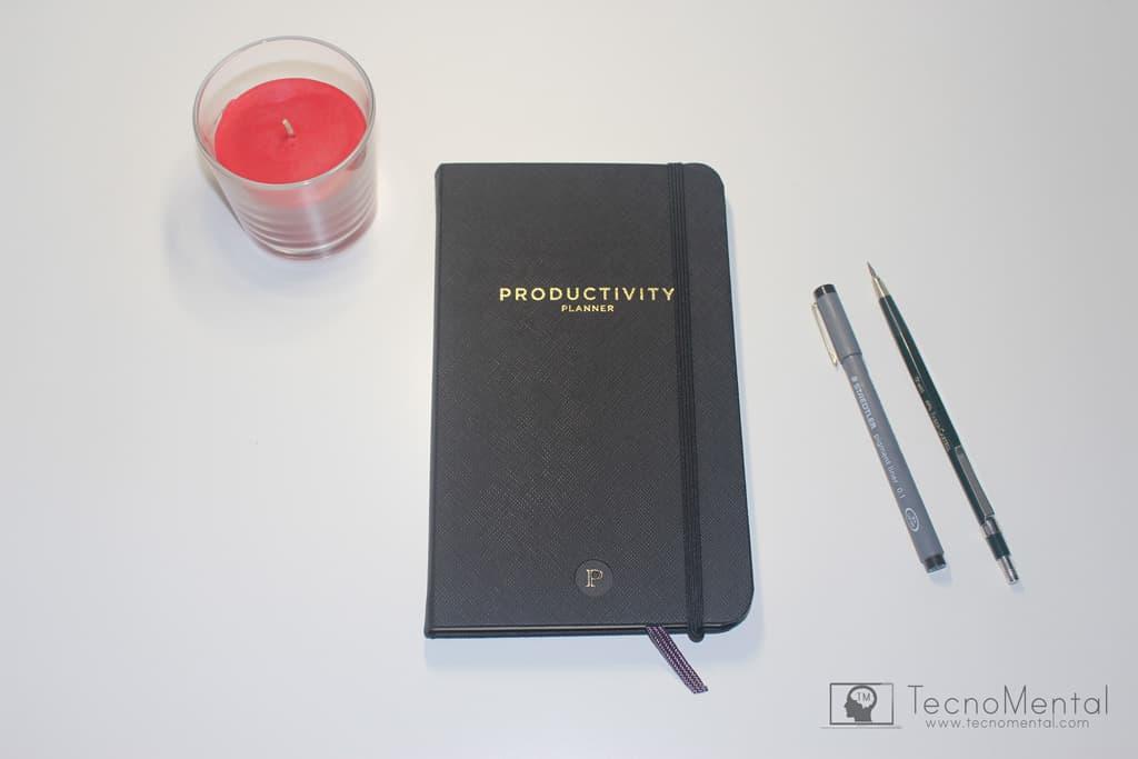 Cuaderno planificador Productivity Planner