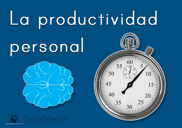 la productividad personal