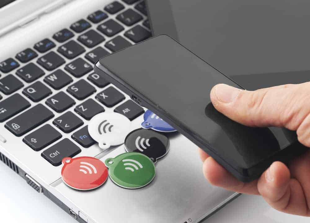Etiquetas y pegatinas NFC