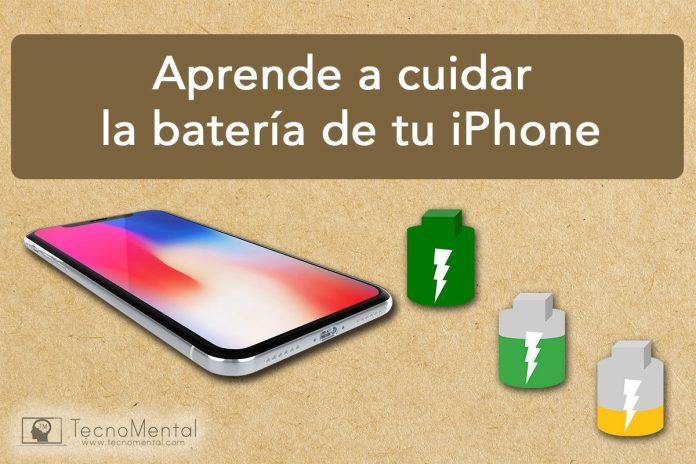 Cómo cuidar la batería de un iPhone